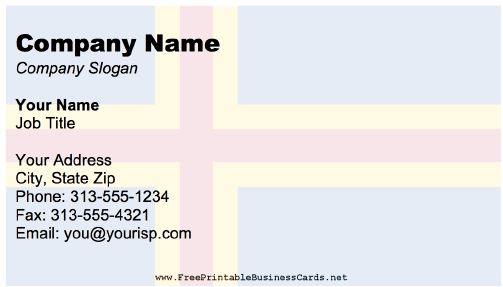 Aland Business Card business card