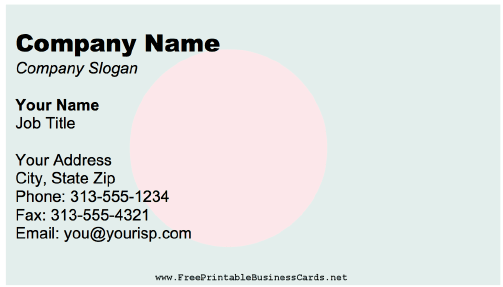 Bangladesh Business Card business card