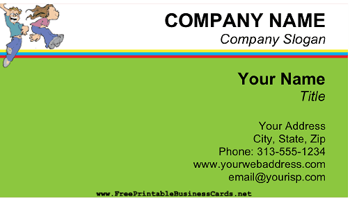 Bounce House Rental business card