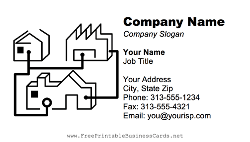 Computer Network business card
