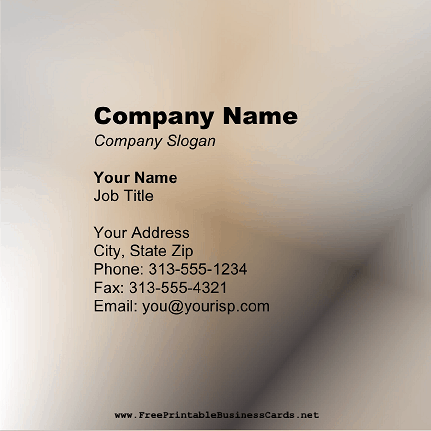 Copper Square business card