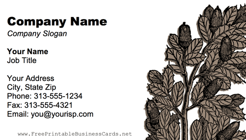 Gray Plant business card