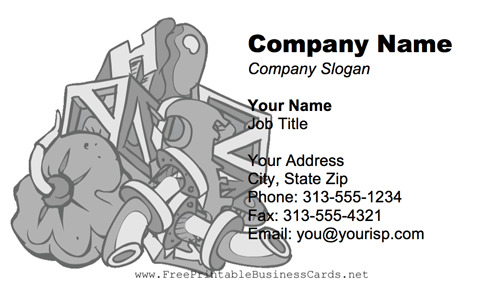 Junk Pile business card