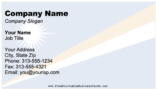 Marshall Islands business card