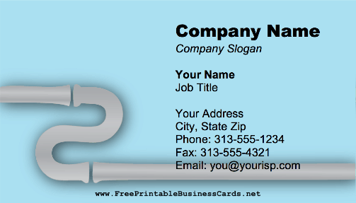 Silver Pipes business card