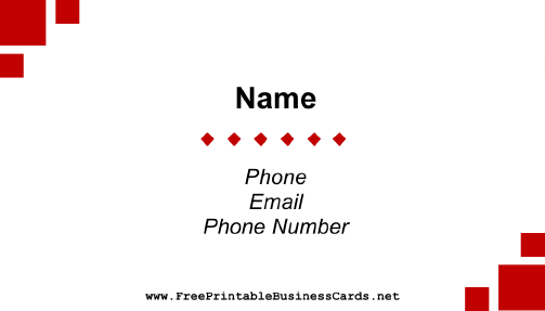 Study Abroad Business Card business card