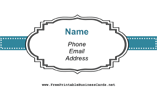 Vintage Old-Fashioned Business Card business card