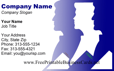 Profiles business card