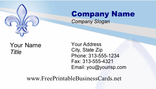 Business #1 business card