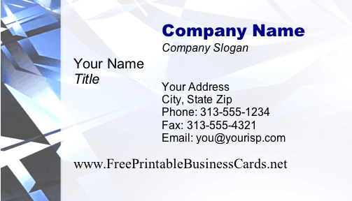 Technology #2 business card