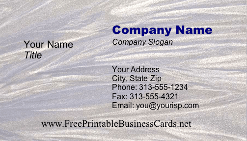 Texture #11 business card