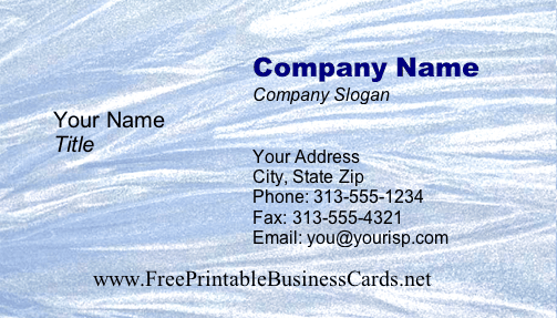 Texture #11a business card