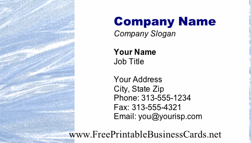Texture #11b business card