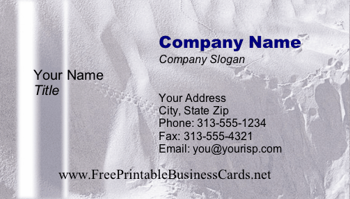 Texture #12a business card