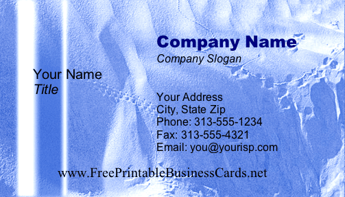 Texture #12b business card