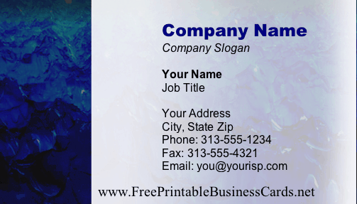 Texture #15a business card