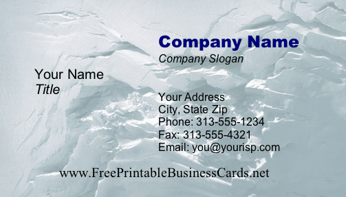 Texture #1b business card