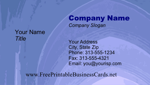 Texture #3b business card
