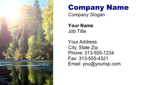 Trees business card