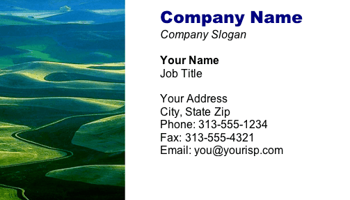 Valley #2 business card