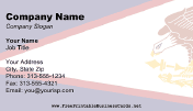 Flag of American Samoa business card