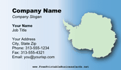 Antarctica Business Card business card