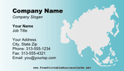 Asia Business Card business card