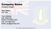 British Virgin Islands business card