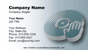 D.J. Business Card business card