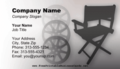 Director Business Card business card