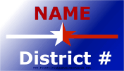 District Sign business card