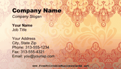 Henna Business Card business card