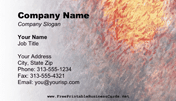 Impressionism B Business Card business card