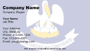 Louisiana Flag business card