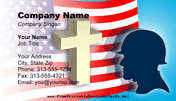 Memorial Day Business Card business card