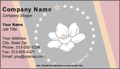 Flag of Mississippi business card