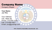 Missouri Flag business card