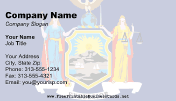 New York Flag business card