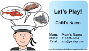 Play Date Card (Boy)
