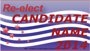 Reelection Sign