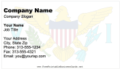 United States Virgin Islands business card