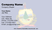 Flag of Vermont business card