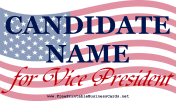 Vice President Sign business card