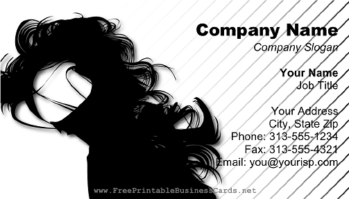 Best hair salon business cards templates free photos hair stylist hair salon business card template hair salon business cards free friedricerecipe Images